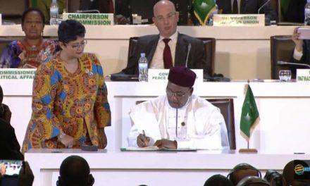 Union Africaine – Moment historique rempli d'émotion pour la signature de l'accord « ZLEC » à Kigali