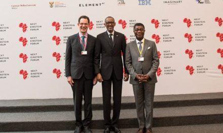 «Next Einstein Forum 2018» – Paul Kagame veut que l'Afrique se tourne vers ses propres experts scientifiques