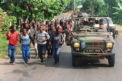 GENOCIDE : Rwanda , la France, l'ONU et l'alibi humanitaire