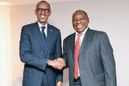 UA : L'Arrivée de Ramaphosa Ouvre-t-Elle une Nouvelle ère Entre Rwanda et Afrique du Sud ?