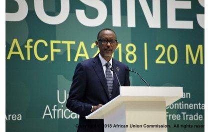 Paul Kagame (Sommet de l'Union Africaine) – «nous allons signer un accord historique en créant la Zone de Libre-Échange Continental Africaine»