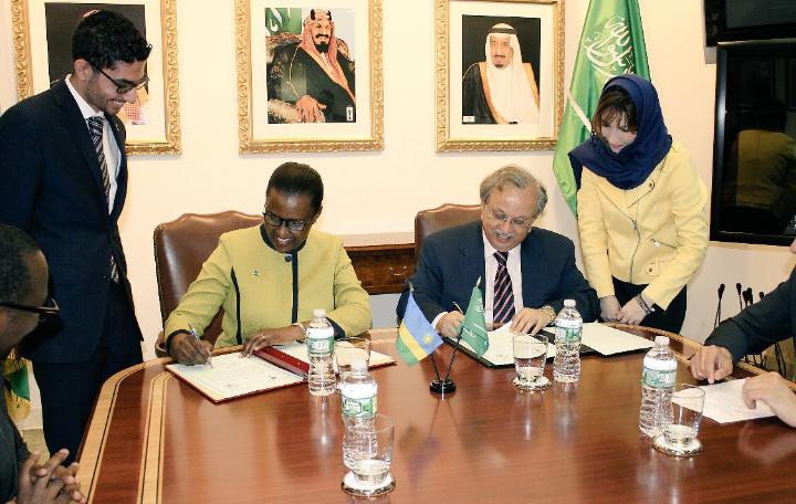 Le Rwanda et l'Arabie Saoudite établissent des relations diplomatiques.