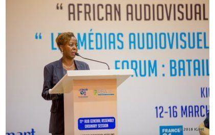 Mme Louise Mushikiwabo (Affaires Etrangères) donne une orientation africaine aux médias électroniques