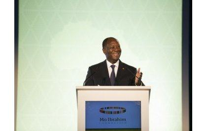 Ouattara et Kagame louent les mérites d'Ellen Sirleaf, prix Mo Ibrahim 2018