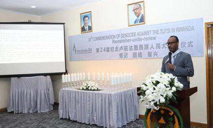 Kwibuka24: Les Ambassadeurs en poste en Chine, saluent la résilience et la qualité du leadership rwandais