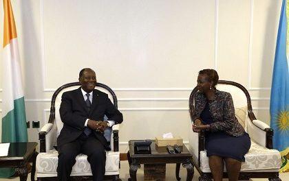 KIGALI : Président Alassane Ouattara Est Arrivé à Kigali pour une Visite d'Amitié et de Travail