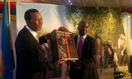 Entretiens pour restaurer les relations entre le Rwanda et l'Afrique du Sud.