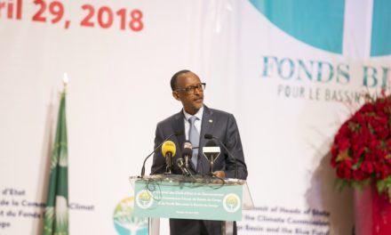 Le Président Paul Kagame défend le «Fonds Bleu du Bassin du Congo».