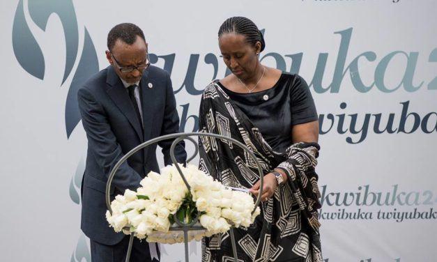 Président Paul Kagame lance la cérémonie de la 24ème Commémoration du Génocide perpétré contre les [Ba] Tutsis