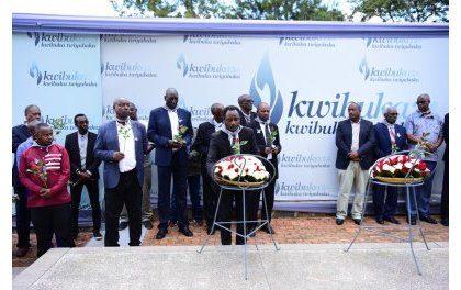 Les Anciens de Lubumbashi rendent hommage à leurs anciens collègues victimes du Génocide