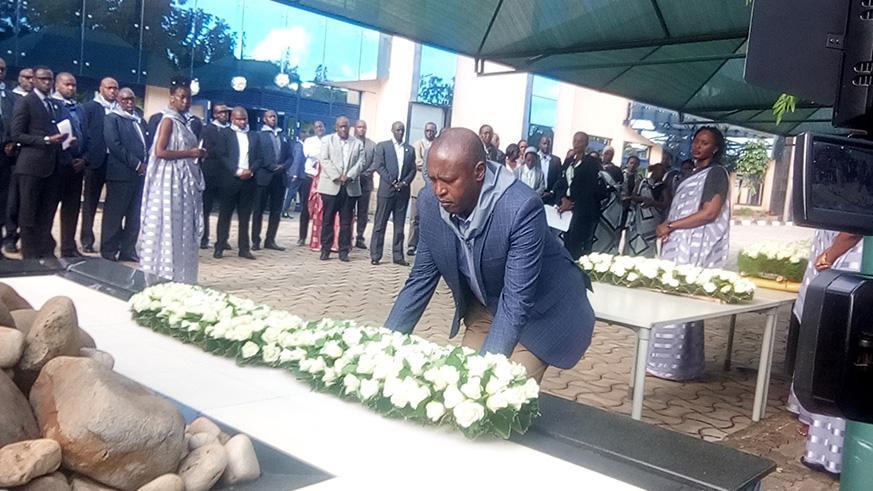 Le RSSB s'engage à conserver des preuves sur la planification du Génocide contre les Tutsis dans l'ancienne Caisse Sociale.