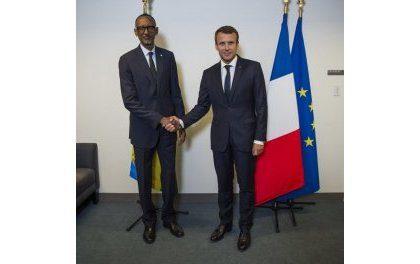 Kagame rencontre Macron a Paris : un dégel franco-rwandais ou manoeuvre dilatoire ?