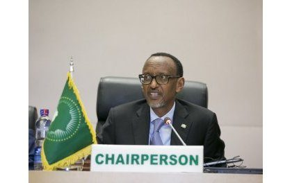 Addis-Ababa: Perezida Kagame yayoboye inama y'abagize nyobozi ya AU