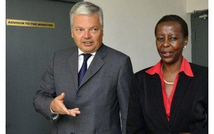 Dialogue politique bilatéral entre le Rwanda et la Belgique