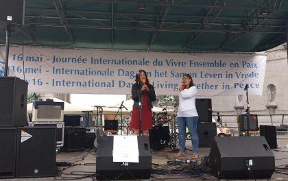 BRUXELLES : Active Participation de la Diaspora Rwandaise de Belgique à la Journée Internationale du Vivre Ensemble en Paix.