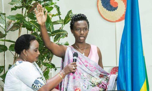 Rwanda – Madame Marie-Chantal Rwakazina est la nouvelle Maire de la ville de Kigali