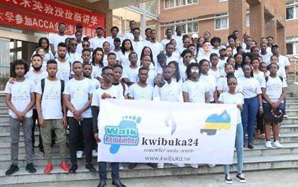 KWIBUKA 24 : Des étudiants rwandais de l'université de Ningbo en Chine rendent hommage aux victimes du génocide perpétré contre les [Ba] Tutsis