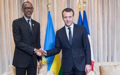 Emmanuel Macron soutient la candidature rwandaise à la tête de la Francophonie