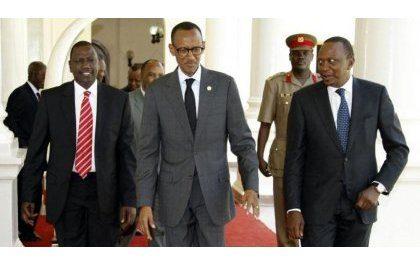 Perezida Kagame azitabira inama yiga ku mishinga y'umuhora wa ruguru i Nairobi