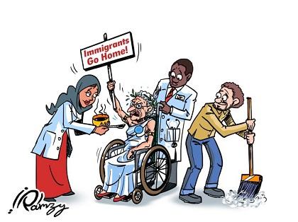 UBUNTU : Une Europe Forteresse en Perdition Morale : le Bal des Hypocrites
