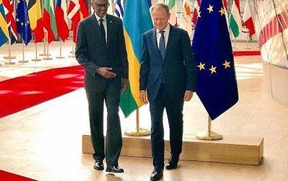 BRUXELLES : Visite du Président Kagame dans le Cadre de la Diplomatie Régionale et pour Partager les Expériences du Développement à la Rwandaise