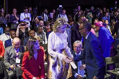 EU : President Kagame et son Audience de Reines de Belgique et d'Espagne