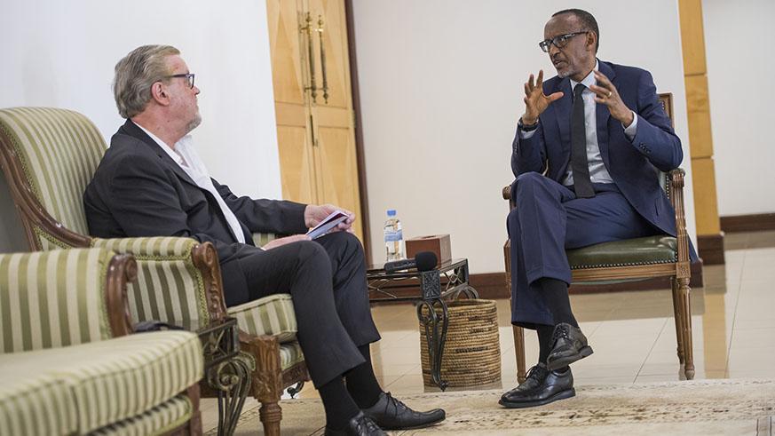 Kagame : l'Afrique n'a pas besoin de baby-sitters.