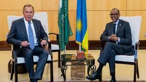 SERGUEÏ LAVROV A KIGALI POUR EVOQUER LA COOPERATION RUSSO-RWANDAISE