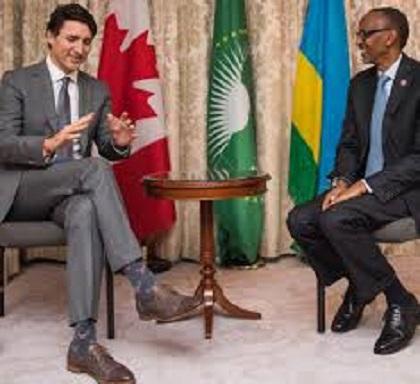 OTTAWA : Le Premier Ministre Justin Trudeau Rencontre le Président du Rwanda, Paul Kagame