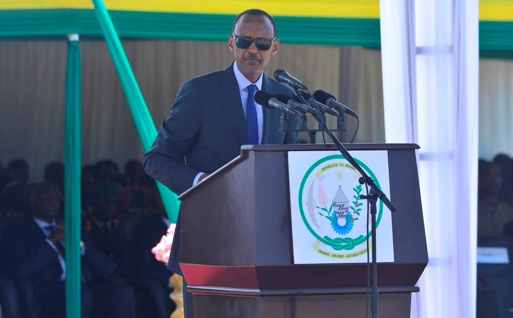 Iyo bibaye ngombwa ugushojeho intambara urayimurangiriza – Kagame