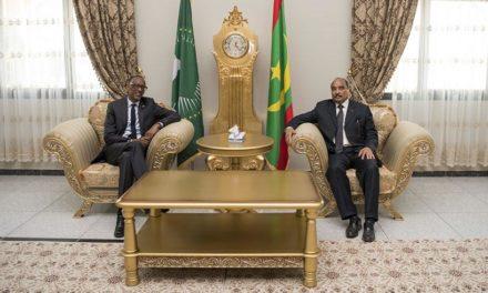 Le Président Paul Kagame en Mauritanie pour le sommet de l'UA.