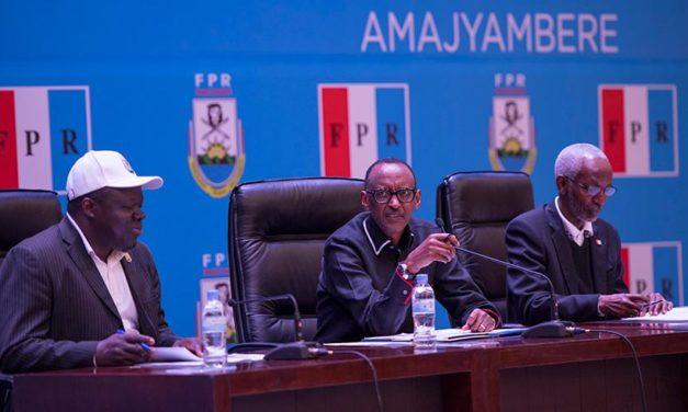 Rwanda – Candidatures prochaines élections (FPR) – Le Président Paul Kagame : « Travailler d'abord pour le peuple, avant de penser à nos propres intérêts »