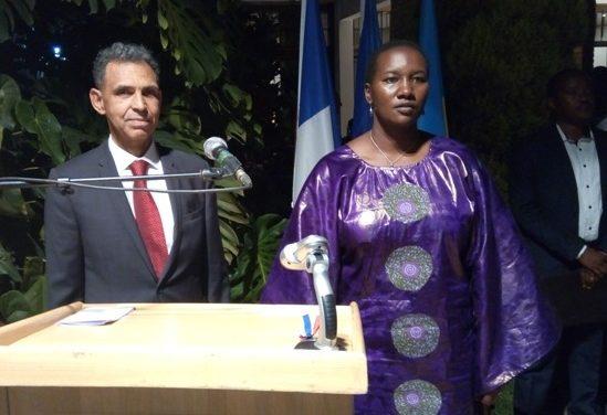L'Ambassade de France à Kigali a célébré Bastille Day sous le signe du Succès du dialogue entre Kagame et Macron