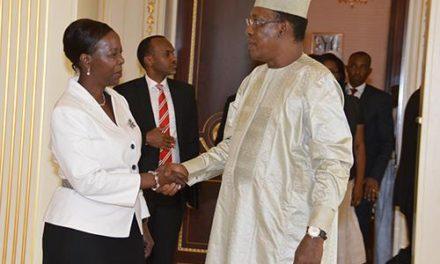 La patronne de la diplomatie rwandaise reçue par le Président tchadien
