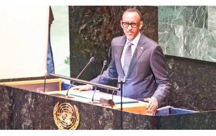 Kagame à la 73ème AG de l'ONU vend sa recette de l'indépendance et dignité de l'Afrique