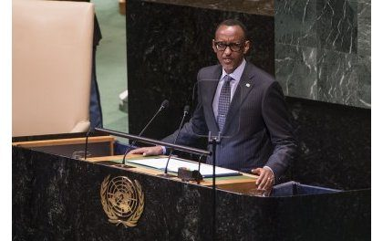 Uburyo dukoresha uyu munsi mu miyoborere y'Isi ntabwo ari uburambye – Perezida Kagame