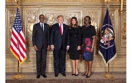 New York: Perezida Kagame yahuye na Donald Trump