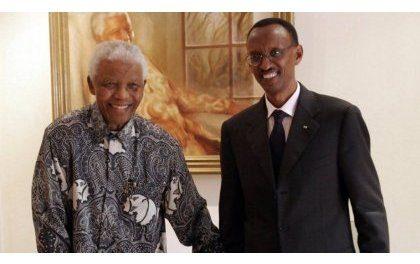 Perezida Kagame yagaragaje umurage Nelson Mandela yasigiye Isi