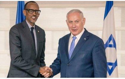 Perezida Kagame yaganiriye na Netanyahu ku gufungura Ambasade ya Israel i Kigali