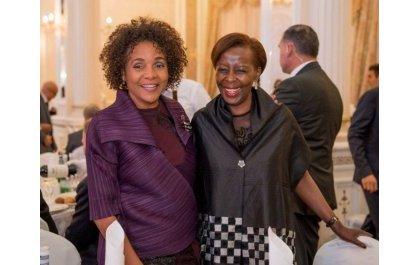 Mushikiwabo yahuye na Michaëlle Jean bahatanira kuyobora OIF (Amafoto)