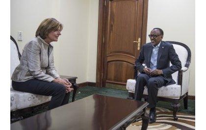 Perezida Kagame yakiriye Umuyobozi w'Intara ya Rhénanie-Palatinat