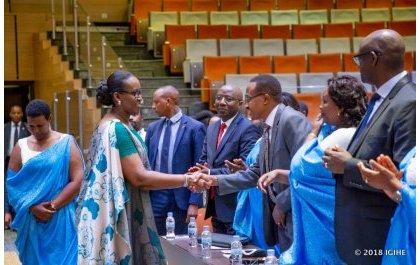 Mme Jeannette Kagame participe à la 11ème rencontre de Unity Club