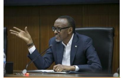 Kagame sensibilise les jeunes Africains à la recherche de solutions endogènes à leurs problèmes