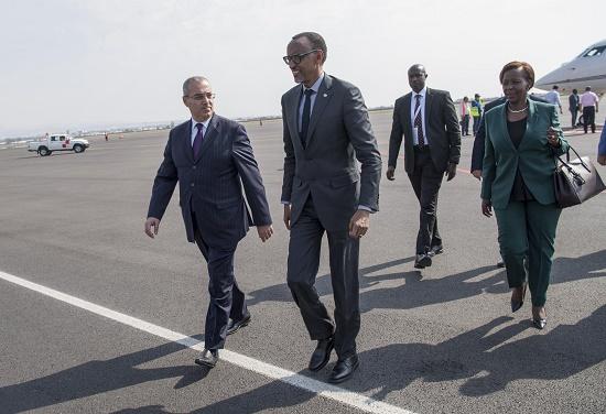Le Président Kagame en Arménie pour le 17ème Sommet de la Francophonie