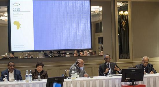 Perezida Kagame yitabiriye Inama y'Ubutegetsi ya Mo Ibrahim Foundation