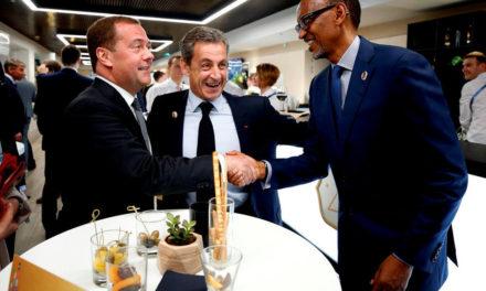 Le Président Kagame a une vision pour le Rwanda et l'Afrique, selon Nicolas Sarkozy
