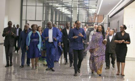 Perezida Kagame yakomoje ku bumenyi bwe mu Gifaransa