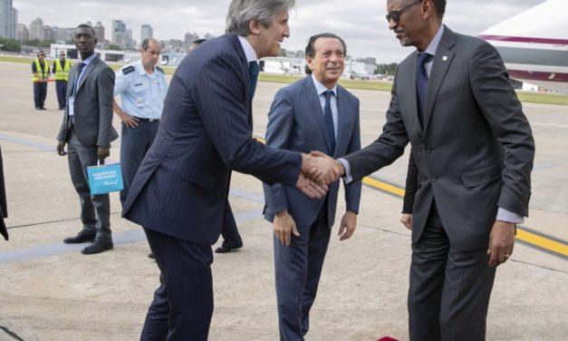 Arrivé du Président Kagame en Argentine pour le Sommet du G20