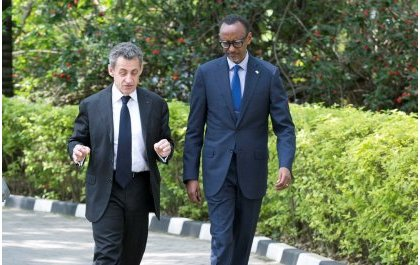 Nicolas Sarkozy yagaragaje Perezida Kagame nk'umuyobozi ukomeye Afurika ifite