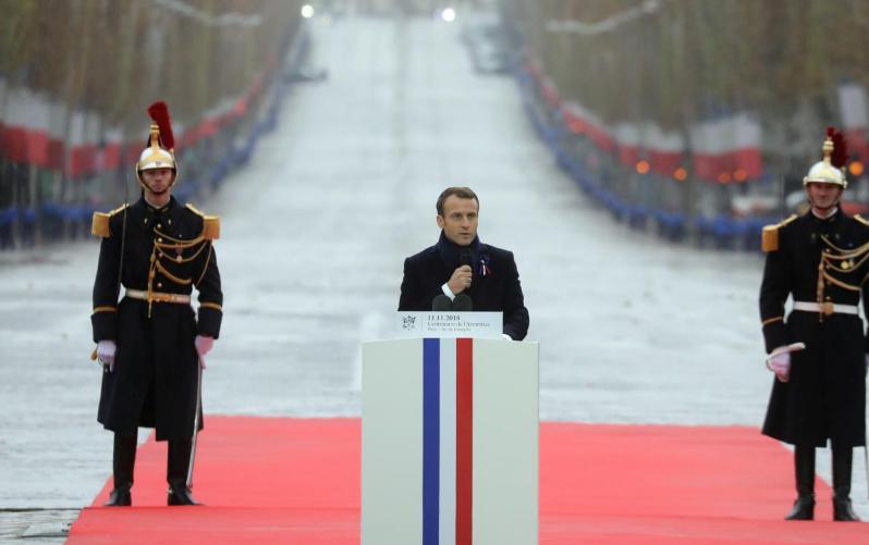 Gukunda igihugu no kugikunda by'agakabyo biratandukanye- Macron